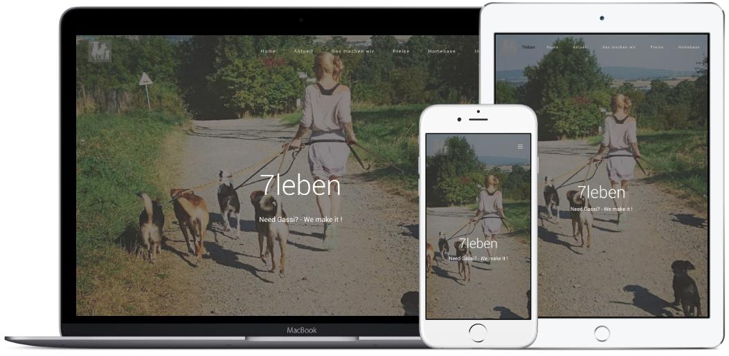 Website für 7leben.net