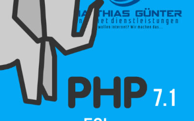 Kein Support für PHP 7.1