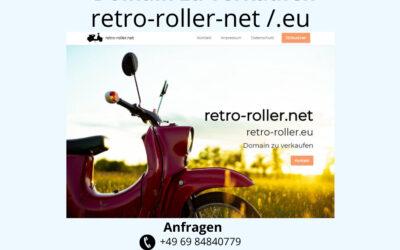 retro-roller.net /.eu Domain zu verkaufen