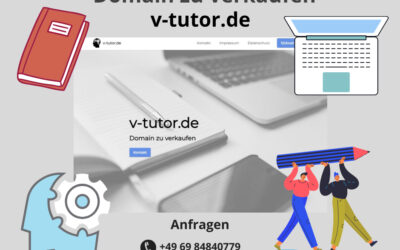 v-tutor.de Domain zu verkaufen