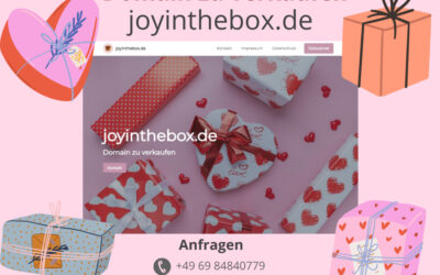 joyintheboy.de Domain zu verkaufen