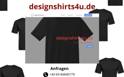 designshirts4u.de zu verkaufen